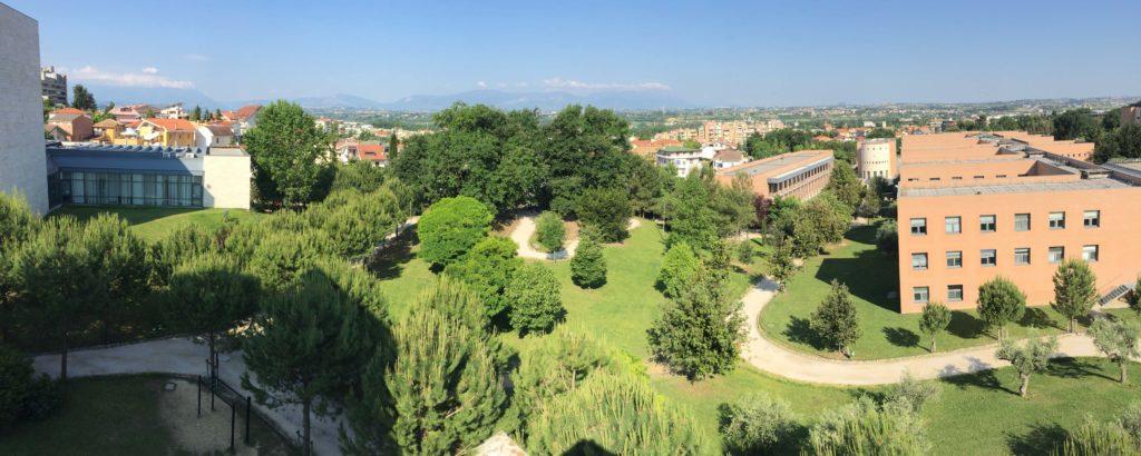 Campus Chieti vista dall'alto